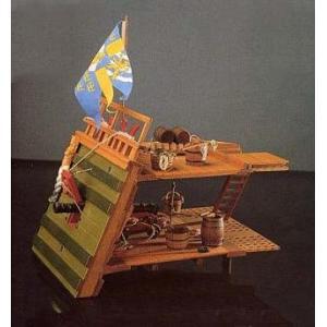 ■コーレル:SM39 1/24 ワサ( ガンデッキ) (1628年 スエーデンの軍艦) 【木製帆船組立モデル】