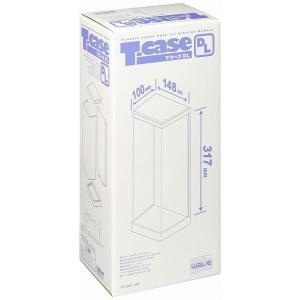 ウェーブ ディスプレイ T・ケース (DL) 1/6ドール対応 背面ミラー仕上 プラスチック製 (ドール固定用C型クリップ付属) TC041|marusan-hobby