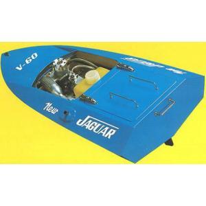 ヒートレースボート ジャガーV-60-II  【R・Cボート木製組立キット】 marusan-hobby