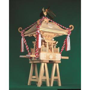 町神輿【ウッディージョー:1/5 木製建築組立キット】|marusan-hobby
