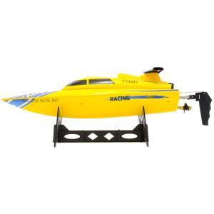 フリーダム イエロー 全長 350mm 2.4GHz電動ハイスピード完成ボートセット  WLtoys(ハイテック) WLB911Y|marusan-hobby|03