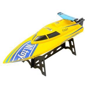 フリーダム イエロー 全長 350mm 2.4GHz電動ハイスピード完成ボートセット  WLtoys(ハイテック) WLB911Y|marusan-hobby|04