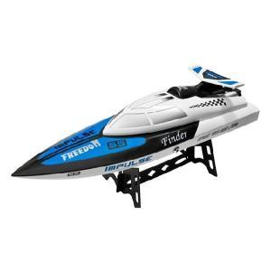 タイガーシャーク 全長 380mm 2.4GHz電動ハイスピード完成ボートセット  WLtoys(ハイテック) WLB912W|marusan-hobby