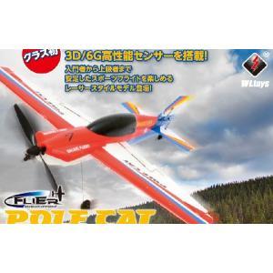 ポールキャット ハイテック  WLF939-A 4CH 3D/6Gシステムエアープレーン|marusan-hobby