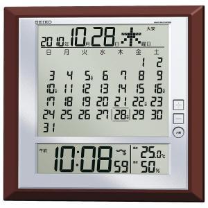 セイコー 電波マンスリーカレンダー掛置兼用 S...の関連商品6