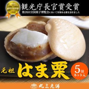 鹿島名物 元祖 はま栗もなか5個入り 最中 土産 ギフト 和菓子 詰め合わせ