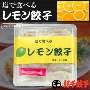 元祖レモン餃子 1パック10個入り(岩塩付き)|marusengyouza66