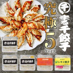 【送料無料】DEATH×DEATH餃子も選べる!まる千餃子 お試しセット 【5点セット】|marusengyouza66