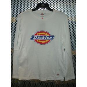 Dickies123M41WD01長袖Tシャツ/オフホワイト|maruseru