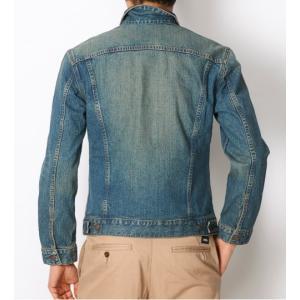 EDWIN ET1023-946 ベーシックデニムジャケット/中色ブルー Gジャン 大きなサイズ|maruseru|02