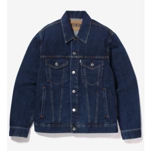 EDWIN ET1087-93 ベーシックデニムジャケット/中色ブルー|maruseru