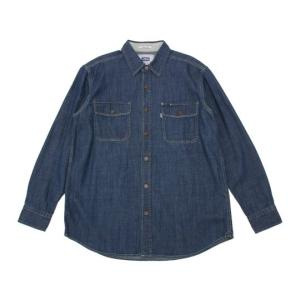 EDWIN デニム 長袖ワークシャツ ET2001-193 maruseru 02
