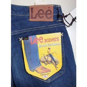 Lee 102 ブーツカット LM5102-446 アメリカン・ライダース 446 中色ブルー リー メンズ デニム ジーンズ ジーパン Gパン|maruseru