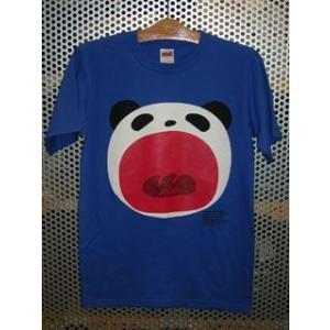 パンダTシャツ/ロイヤルブルー|maruseru