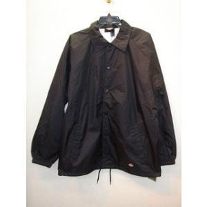 DickiesUD76242Snap Front Nylon Jacket/BKブラック|maruseru