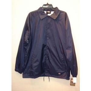 DickiesUD76242Snap Front Nylon Jacket/DNダークネイビー|maruseru