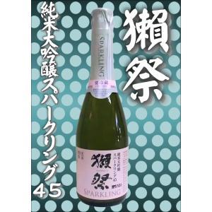 日本酒 だっさい獺祭 発泡にごりスパークリング45 360ml  お手軽  山口県 旭酒造