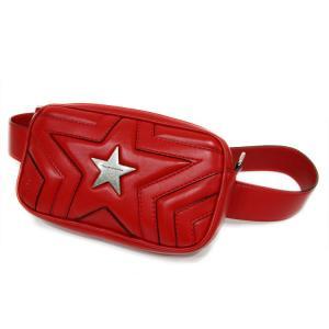 【美品!】ステラマッカートニー ベルトバッグ 529309 W8214 BUM BAG STELLA STAR ALTER NAP /ボディバッグ/ウエストバッグ 赤 中古|marushin-shichi