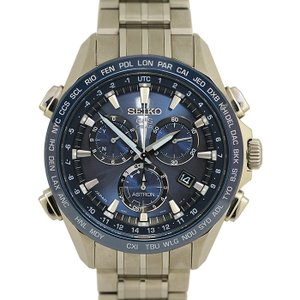 セイコー アストロン 8Xシリーズ SBXB005 / 8X82-0AB0-1 GPS衛星電波 ソーラー チタン×セラミック メンズウォッチ GPS SOLAR 腕時計 中古|marushin-shichi
