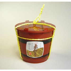 赤みそ2kg樽 国産原料使用・長期熟成☆麦入り☆【丸新本家・湯浅醤油】|marushin