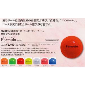 SPGパークゴルフ公認ボール Formula(フォーミュラ)