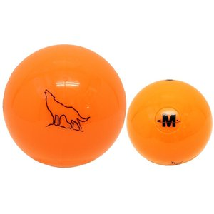 Northway パークゴルフ公認ボール2ピース 「ウルフ」 オレンジ|marushinnet