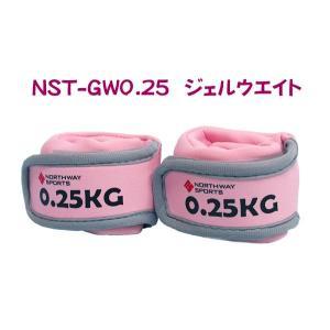 Northway ジェルアンクルリストウエイト(0.25kg×2個)|marushinnet
