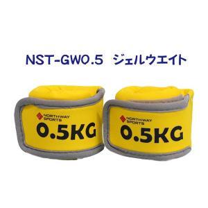 Northway ジェルアンクルリストウエイト(0.50kg×2個)|marushinnet
