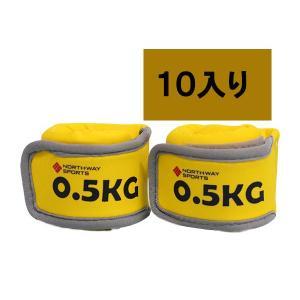 Northway ジェルアンクルリストウエイト(0.50kg×2個)10個入り|marushinnet