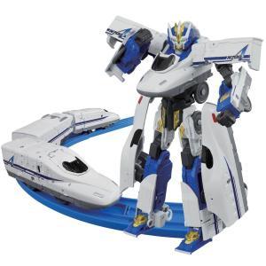 シンカリオン N700Aのぞみがプラレールで登場!3両編成仕様で、新幹線からロボットに変形するぞ! ...
