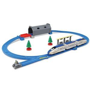 【送料無料】プラレール トンネルを照らそう! ライト付E7系新幹線かがやき ベーシックセット
