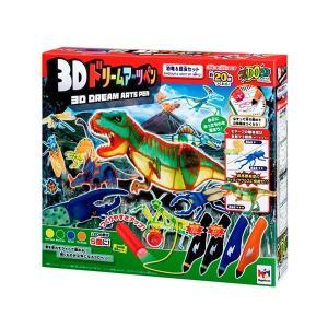 3Dドリームアーツペン 恐竜&昆虫セット(4本ペン)|marusounet