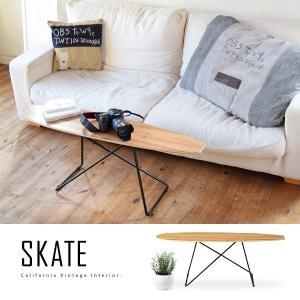 スケートボードテーブル スケボー スケーター サイドテーブル ローテーブル スケートデッキテーブル|marusyou