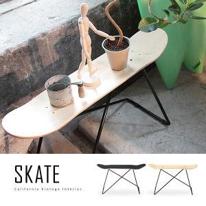 スケートボード スケートスツール スケートデッキスツール スケボーチェア サイドテーブル|marusyou