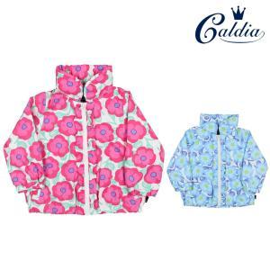 171ca6f20c29a  子供服  Caldia (カルディア) タフタ花柄ジャケット・パーカー 80cm〜140cm A10130