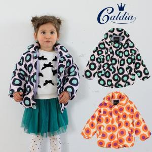 【子供服】 Caldia (カルディア) まる花柄中綿タフタジャケット 80cm〜140cm A50150|marutaka-iryo