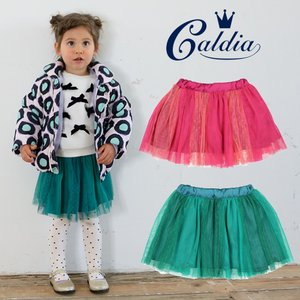【子供服】 Caldia (カルディア) チュール切替スカート 80cm〜140cm A51251|marutaka-iryo