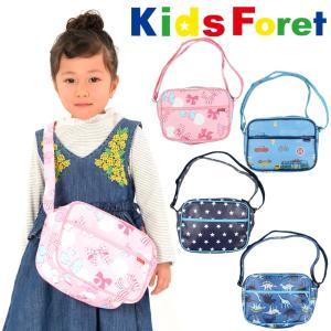 子供服 Kids Foret キッズフォーレ リボン・車・星・恐竜柄通園バッグ・鞄・ショルダーバッグ B11666|marutaka-iryo