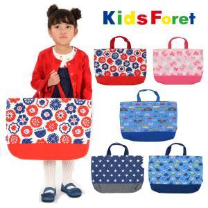 【子供服】 Kids Foret (キッズフォーレ) 総柄レッスンバッグ・おけいこバッグB11669|marutaka-iryo