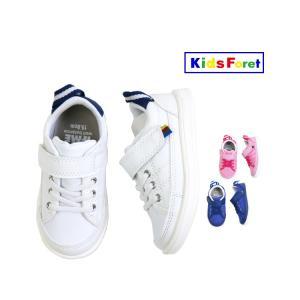 【子供服】 Kids Foret (キッズフォーレ) IFMEコラボスニーカー・靴 15cm〜19cm B17560|marutaka-iryo
