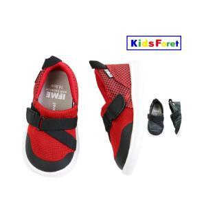 【子供服】 Kids Foret (キッズフォーレ) IFMEコラボゴムベルトシューズ・靴 13cm〜19cm B17561|marutaka-iryo