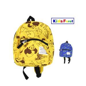 【子供服】 Kids Foret (キッズフォーレ) 動物・恐竜柄総柄リュック S〜L B17642|marutaka-iryo