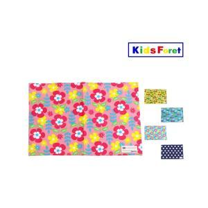 【子供服】 Kids Foret (キッズフォーレ) 総柄ランチマット・ランチクロス S,M B17862|marutaka-iryo