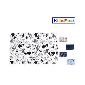 【子供服】 Kids Foret (キッズフォーレ) 総柄ランチマット・ランチクロス S,M B17864|marutaka-iryo
