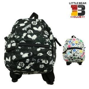 【子供服】 Little Bear Club (リトルベアークラブ) ショーン総柄リュック S〜L B47600|marutaka-iryo