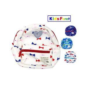 【子供服】 Kids Foret (キッズフォーレ) リボン・車総柄はっ水リュック S〜L B55630|marutaka-iryo