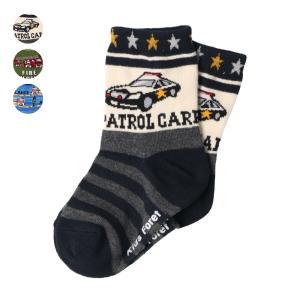 【子供服】 Daddy Oh Daddy (ダディオダディ) 星条旗柄クルーソックス・靴下 14cm〜23cm B57305|marutaka-iryo