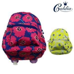 【子供服】 Caldia (カルディア) お花柄撥水ボンディングリュック M,L B57642|marutaka-iryo