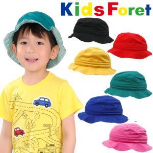 【子供服】 Kids Foret (キッズフォーレ) 日よけたれ付きツイルハット帽子 50cm〜54cm B81400|marutaka-iryo
