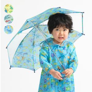 【入園入学準備品】 女の子らしい花柄とかわいい動物柄の2柄の傘です。 同じ柄レインコートとシューズも...